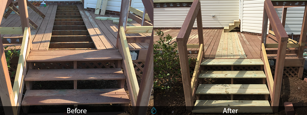 Wood Replacement On A Deck